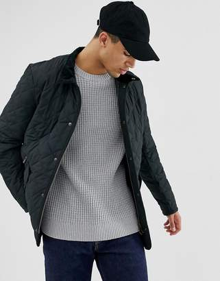 Barbour Chelsea Sports quilted jacket in navy