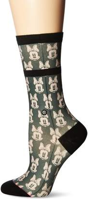 Stance Women's Mini Minnies Minnie Mouse Crew Sock