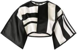 Rubin Singer cropped stripe jacket