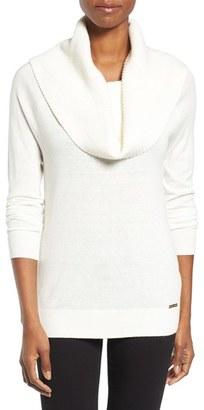 Women's Michael Michael Kors Cowl Neck Sweater $125 thestylecure.com