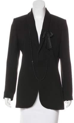 Jean Paul Gaultier Embellished Notch-Lapel Blazer