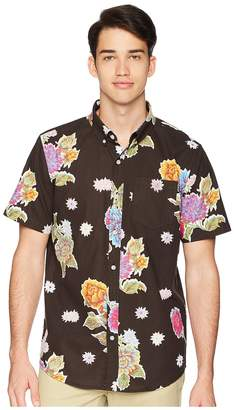 HUF Botanical Floral Short Sleeve Shirt Men's Clothing