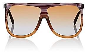 Loewe Women's Filipa Sunglasses - Striped Plum, orange