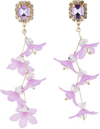 Natasha Accessories Limited Floral Dangle Earrings