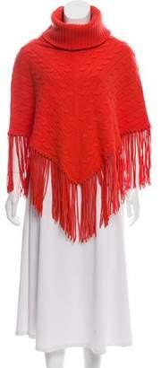 Ralph Lauren Cable Knit Cashmere Poncho