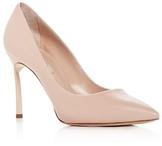 Casadei Women's Blade Leather High-Heel Pumps