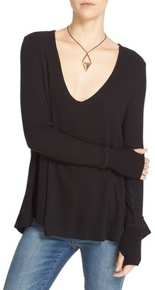 Women's Free People 'Malibu' Thermal Top $51 thestylecure.com