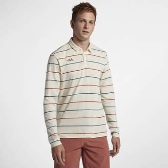 Hurley Channels Polo Men's Long Sleeve Shirt