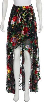 Alice + Olivia Floral Maxi Skirt