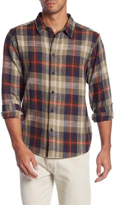 NATIVE YOUTH Check Print Trim Fit Shirt