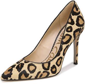 a954bd26d5e1 Sam Edelman Hazel New Nude Leopard Pumps