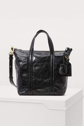 Vanessa Bruno Zipped leather tote bag