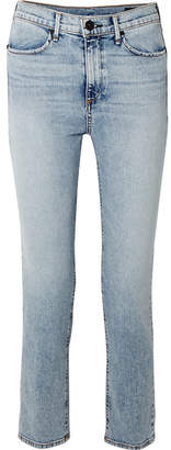 Rag & Bone Cigarette High-rise Slim-leg Jeans - Light denim