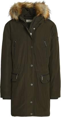 MICHAEL Michael Kors Faux Fur-trimmed Shell Hooded Down Coat