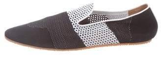 Dries Van Noten Round-Toe Knit Slippers