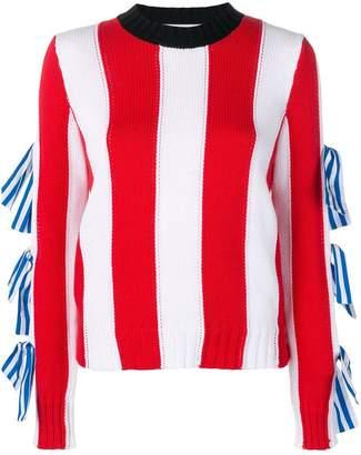MSGM vertical stripes jumper