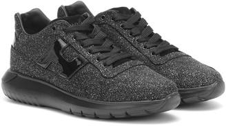 Hogan Interactive glitter sneakers
