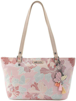 The Sak 106079PETPINBLO Artist Circle Double Handle Tote