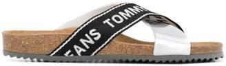 Tommy Hilfiger logo sliders