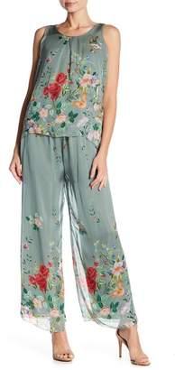 Luma Floral Wide Leg Pants