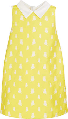 Charabia Lola Kitten Print Sleeveless Dress Size 10-12