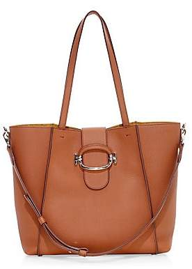 Tod's Women's Ring Leather Shopping Bag