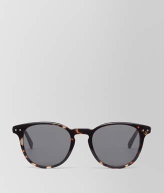 Bottega Veneta DARK HAVANA ACETATE SUNGLASSES