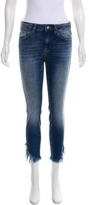 Mavi Jeans Mid-Rise Straight-Leg Jeans w/ Tags