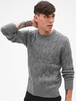Gap Wool Cable-Knit Pullover Sweater