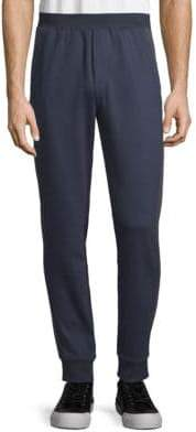 ATM Anthony Thomas Melillo Rib-Cuff Cotton Sweatpants