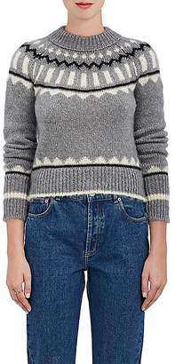 The RERACS Women's Abstract-Pattern Mohair-Blend Sweater