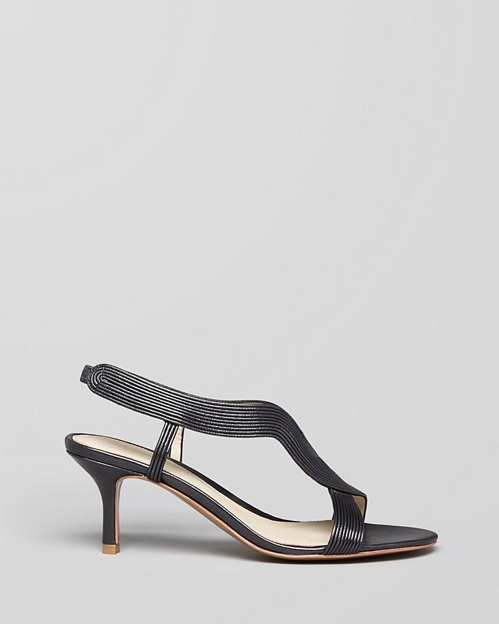 Elie Tahari Sandals - Elsie Mid Heel
