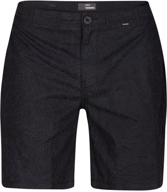 Hurley Men's Tribes Classic-Fit Geo-Print Chino Shorts $45 thestylecure.com