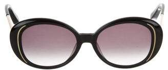 Elizabeth and James Gradient Oversize Sunglasses
