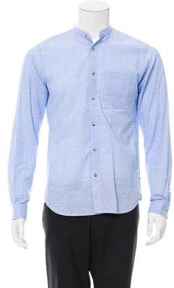 Orley Plaid Button-Up Shirt w/ Tags