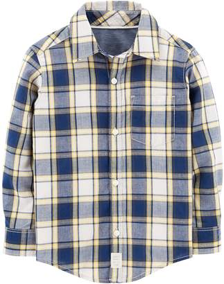 Carter's Baby Boy Plaid Button Down Shirt