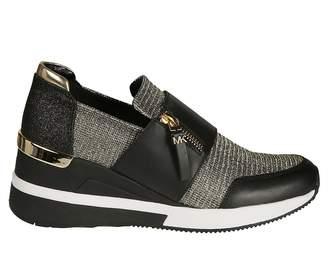 Michael Kors Zipped Sneakers