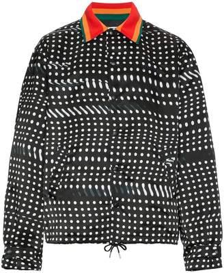 Facetasm Wool blend jacket with dots