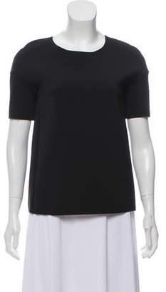 J Brand Short Sleeve Neoprene Top
