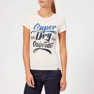 Superdry Women's Original Brand Entry T-Shirt