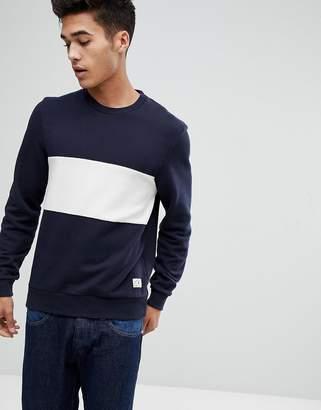 Jack Wills Stratton Sweatshirt in Navy
