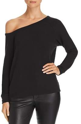 Enza Costa Off-the-Shoulder Knit Top