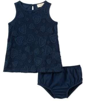 Kate Spade Baby Girl's Two-Piece Lace Dress and Panty Set