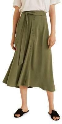MANGO Bowie Midi Skirt