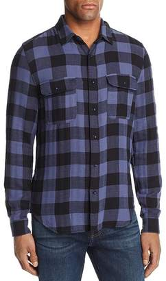 7 For All Mankind Buffalo Check Regular Fit Western Shirt