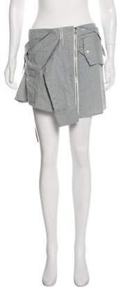 Faith Connexion Striped Mini Skirt