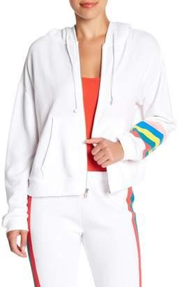 Wildfox Couture Spectrum Zip Up Hoodie