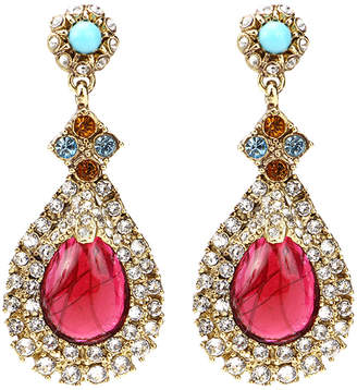 Ben-Amun Ben Amun Byzantine Teardrop Earrings