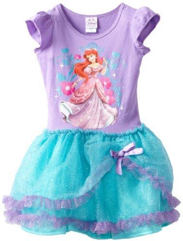 Disney Girls 2-6X Ariel Tutu Dress