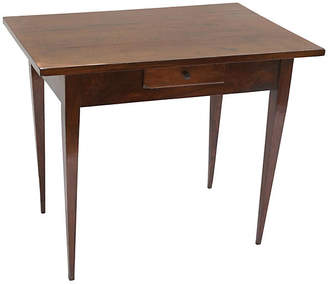One Kings Lane Vintage 19th-C. Italian Directoire Walnut Table - Faded Rose Antiques LLC